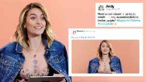 News video: Paris Jackson Gives Advice to Strangers on the Internet