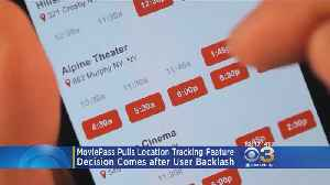 News video: MoviePass Removes Controversial Feature Following Backlash