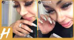 News video: Blac Chyna Suffers a Bizarre Emotional MELTDOWN on Instagram and NEVER Speaks