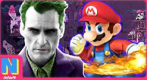 News video: Super Smash Bros Coming to Nintendo Switch! Joaquin Phoenix Playing the Next Joker | NerdWire News