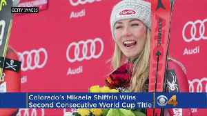 News video: Mikaela Shiffrin Wins Overall World Cup Title - Again!