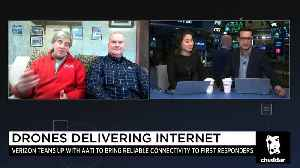 News video: How Drones Will Begin Delivering the Internet