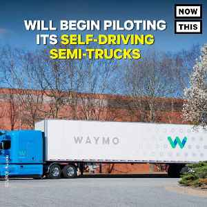 News video: Waymo Self-Driving Trucks Will Soon Be Making Google Deliveries In Atlanta