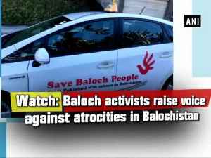 News video: Watch: Baloch activists raise voice against atrocities in Balochistan