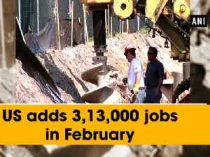 News video: US adds 3, 13,000 jobs in February