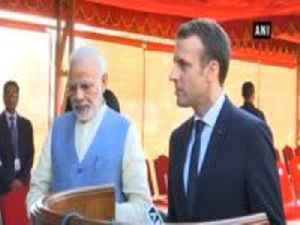 News video: We have good chemistry, our democracies have historic relationship: French President