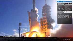 News video: A Look Back To SpaceX Falcon Heavy Rocket Launch: From Start To Starman in two minutes