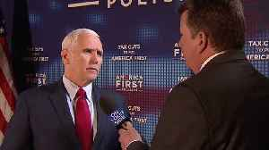 News video: News 5 Exclusive: Vice President Mike Pence talks tax cuts, North Korea and tariffs with John Kosich