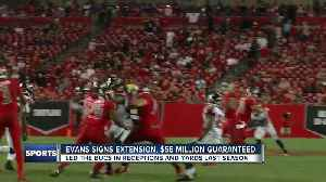 News video: Buccaneers sign star WR Mike Evans to 5-year, $82.5 million extension