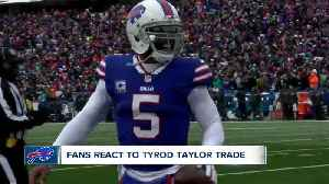 News video: Buffalo Bills trade QB Tyrod Taylor to Cleveland Browns