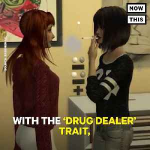 News video: New 'Sims 4' Mod Lets Sims Take Drugs