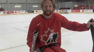 News video: Sharp sticks and custom sleds part of the sport of para hockey