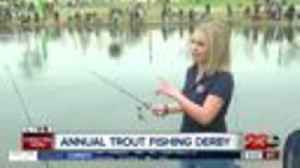 News video: 7th Annual Trout Fishing Derby at Riverwalk Park