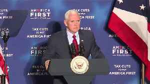 News video: Vice President Pence Speaks on Economic Growth at Cleveland Visit
