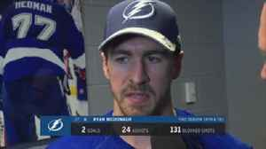 News video: Ryan McDonagh on his debut with the Lightning