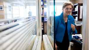 News video: Warren Escalates Feud With Moderate Democrats