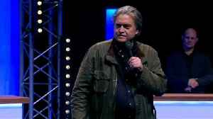 News video: Bannon joins Le Pen at Front National Congress