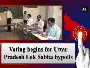News video: Voting begins for Uttar Pradesh Lok Sabha bypolls