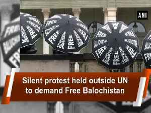News video: Silent protest held outside UN to demand Free Balochistan