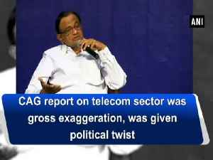 News video: CAG report on telecom sector was gross exaggeration, was given political twist