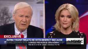 News video: Megyn Kelly: Putin knows things Trump doesn't 'want repeated publicly'