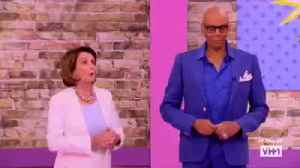 News video: Nancy Pelosi Claims Drag Queens Can Help Politicians Be More Authentic