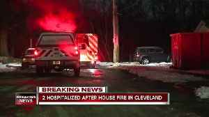 News video: House fire on Meadowvale Ave. sends man, woman to hospital