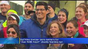 News video: Kathrine Switzer, Tedy Bruschi Join Forces To Promote Heart Health