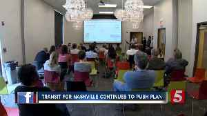 News video: Transit For Nashville Continues To Push Plan
