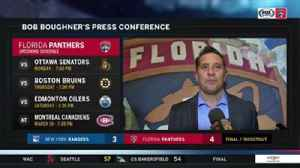News video: Bob Boughner: We're trying to keep level-headed