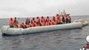 News video: Hundreds of migrants picked up between Libya and Italy