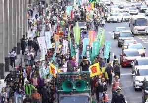 News video: Anti-Nuclear Protestors March in Taipei on the 7th Anniversary of the Fukushima Disaster