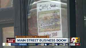 News video: Over-the-Rhine's Main Street booming with new restaurants, shops and offices
