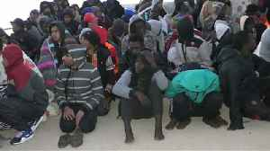 News video: Hundreds of migrants rescued off Libya