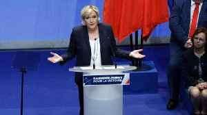 News video: Le Pen Wants to Rename National Front to 'National Rally'