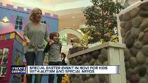 News video: Easter event in Novi for kids who have special needs