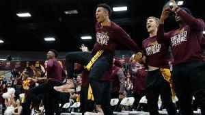 News video: Loyola celebrates after learning it will face Miami in the NCAA tournament