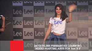News video: Jacqueline Fernandez Learning Mixed Martial Arts For 'Race 3'