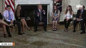 News video: In Tweets On Gun Safety, Trump Expresses Support For Concealed Carry, Says 'Not Much Political Support' For Raising Gun Age Limi