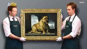 News video: Dog Painting Fetches Close to $792,000 at Auction