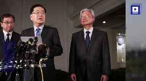 News video: South Korea Praises China on Leading North Korea Talks
