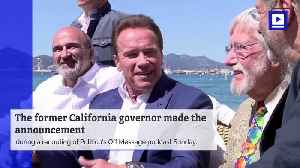 News video: Arnold Schwarzenegger to Sue Oil Companies for 'Killing People'