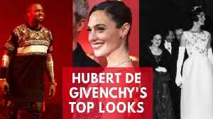 News video: Hubert De Givenchy's 5 Most Iconic Looks