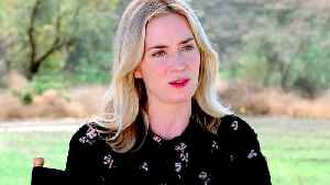 News video: A Quiet Place with Emily Blunt - Behind the Scenes