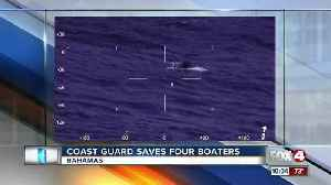 News video: Coast Guard Saves Four Boaters