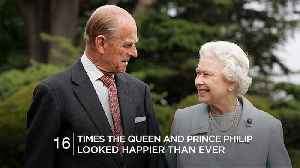 News video: 16 times the Queen and Prince Philip looked happier than ever