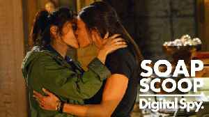 News video: Soap Scoop! Coronation Street - Rana and Kate risk being exposed (Week 50)