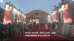 News video: Star Wars: The Last Jedi Premiere Roundup
