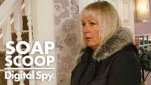 News video: Soap Scoop! Coronation Street - Eileen gets suspicious about Phelan (Week 2)