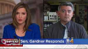 News video: Gardner On North Korea Relationship: Hold China Responsible